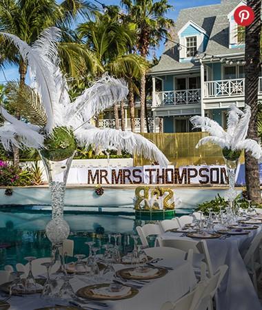 Valentines Resort and Marina Wedding