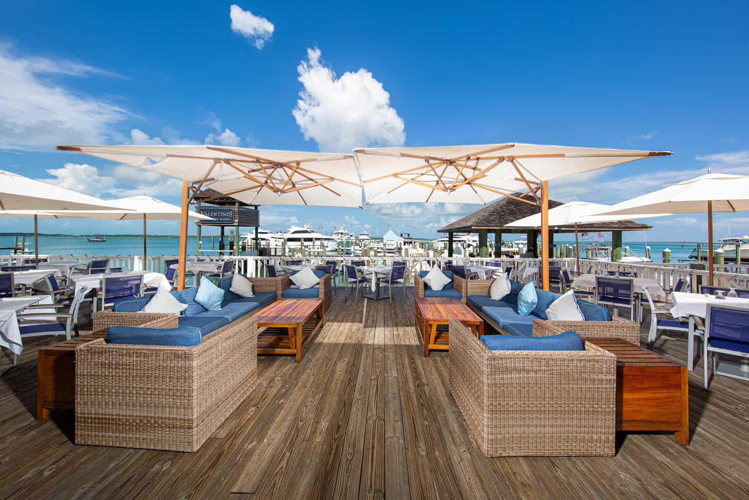 Valentines Resort Entertainment and Dining Deck